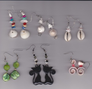 Summer 2014 earrings