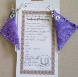 triangle-purple-fabric-earrings